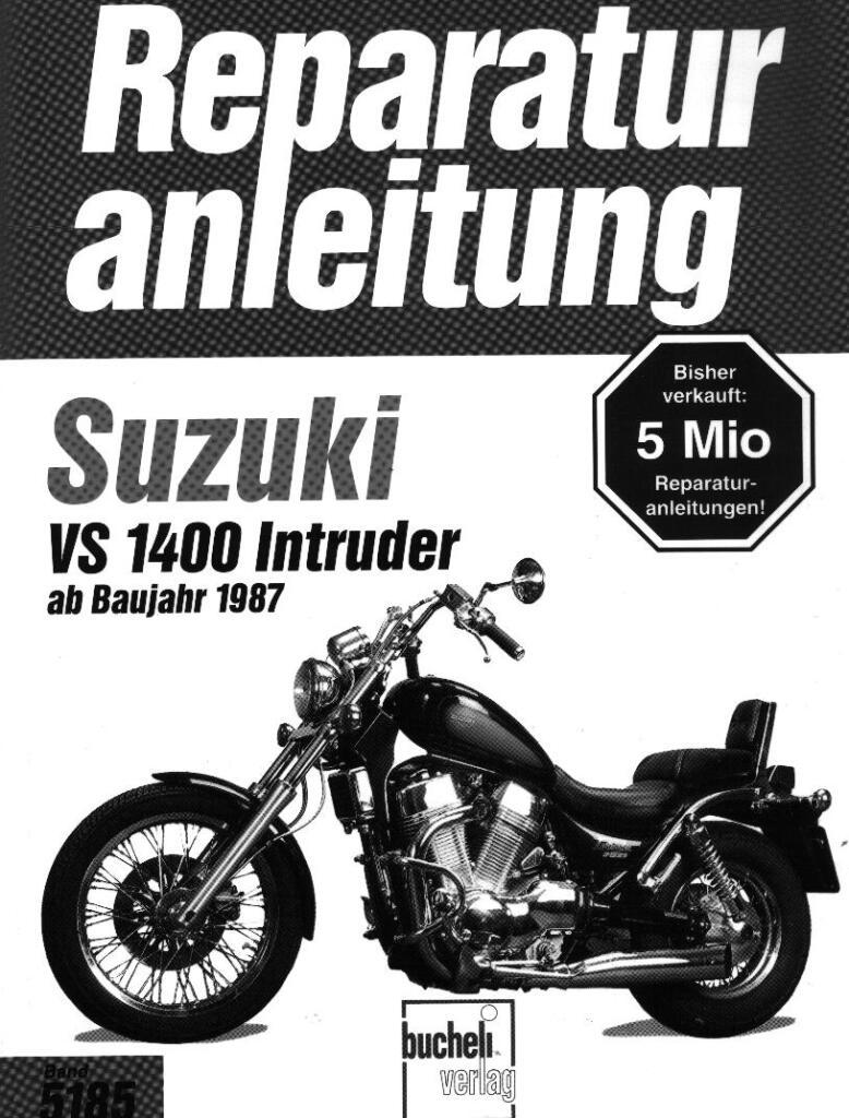 Suzuki Intruder Vs1400 1987 Repair Manual German Pdf  12 5 Mb